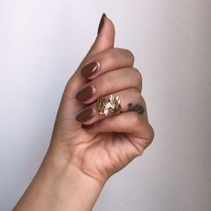 Vintage Jewelry - Greek Filagree 14k Gold Ring